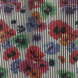 Zara Skirts - Zara Trafaluc Floral Striped Printed Pencil Skirt